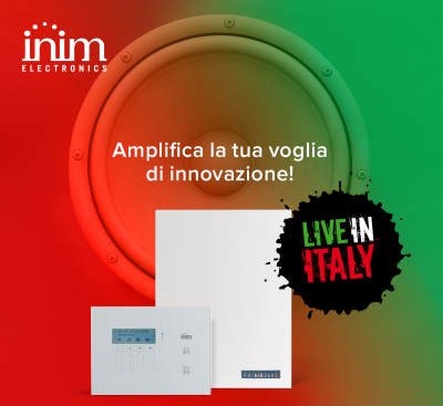 Arriva Live in Italy 2019: il meeting tecnico/commerciale di Inim in collaborazione con Strano, distributore Inim in Sicilia