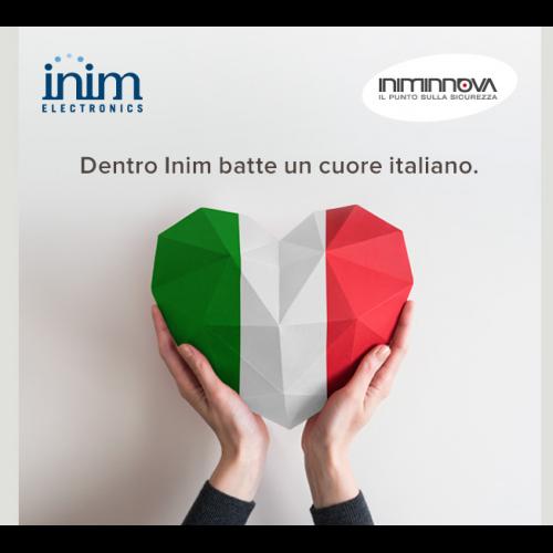 Dentro INIM batte un cuore italiano