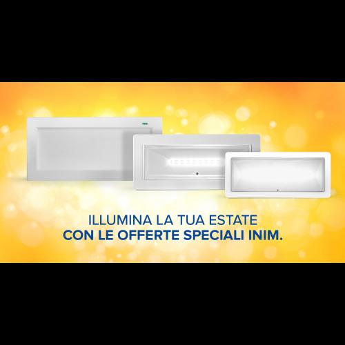 Illumina la tua estate con le offerte speciali INIM!