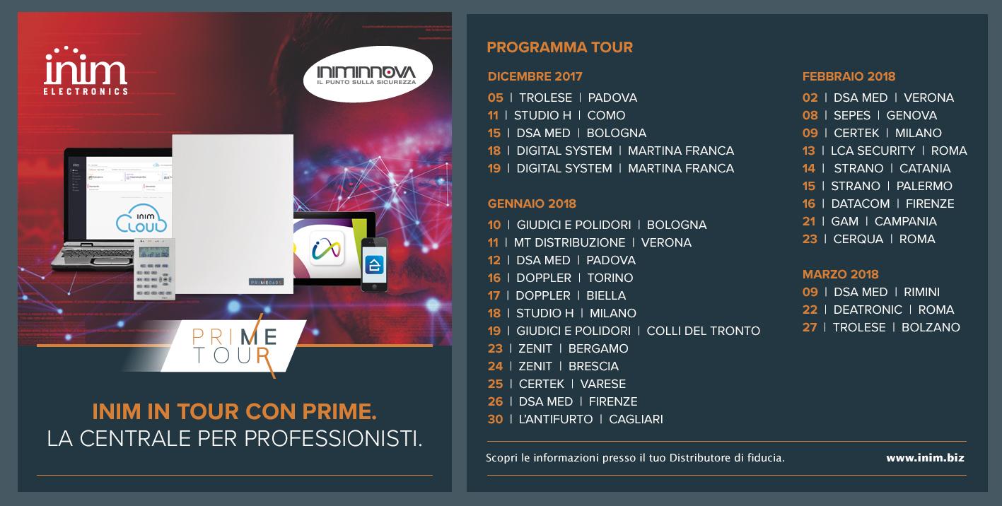 Prime tour 2017/2018