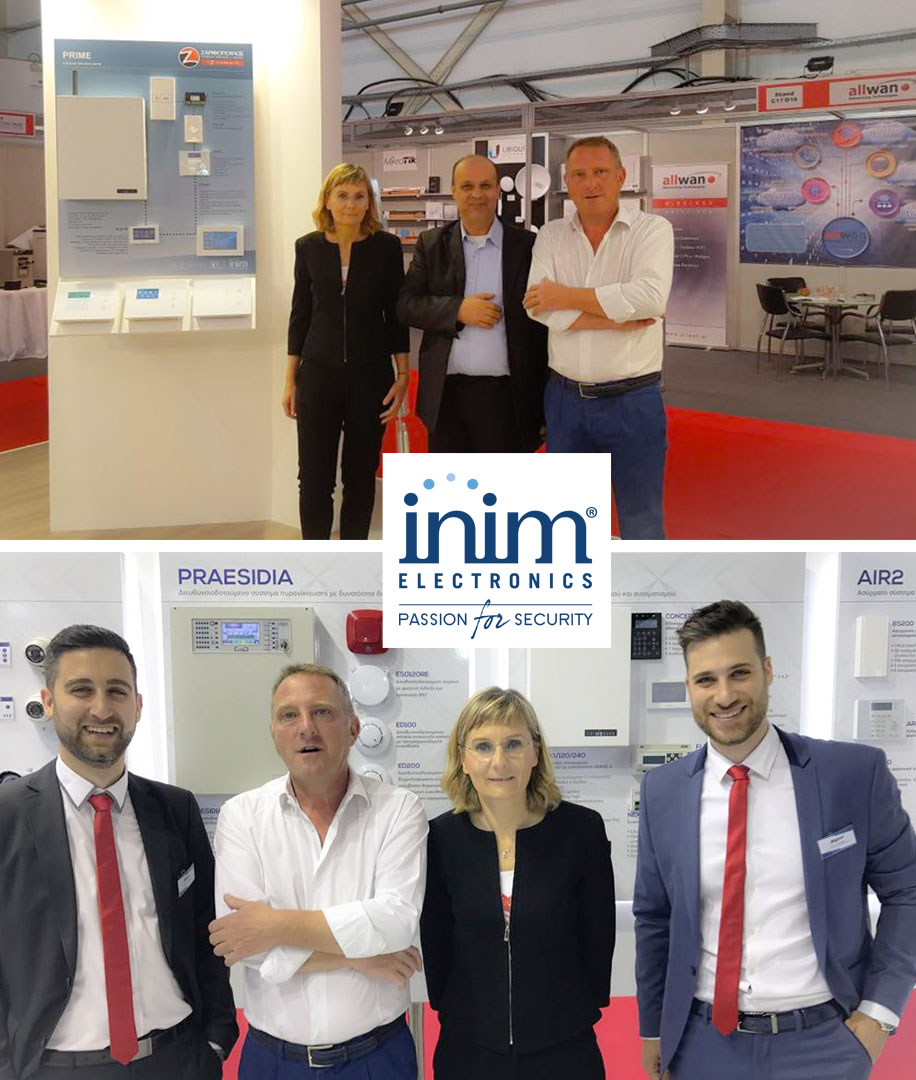 INIM presenta en SecurExpo 2018 en Atenas