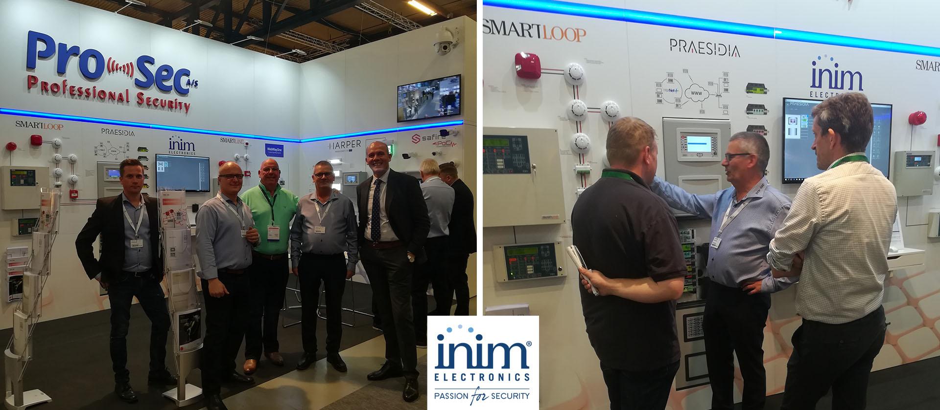 Inim presenta en El & Teknik en Dinamarca