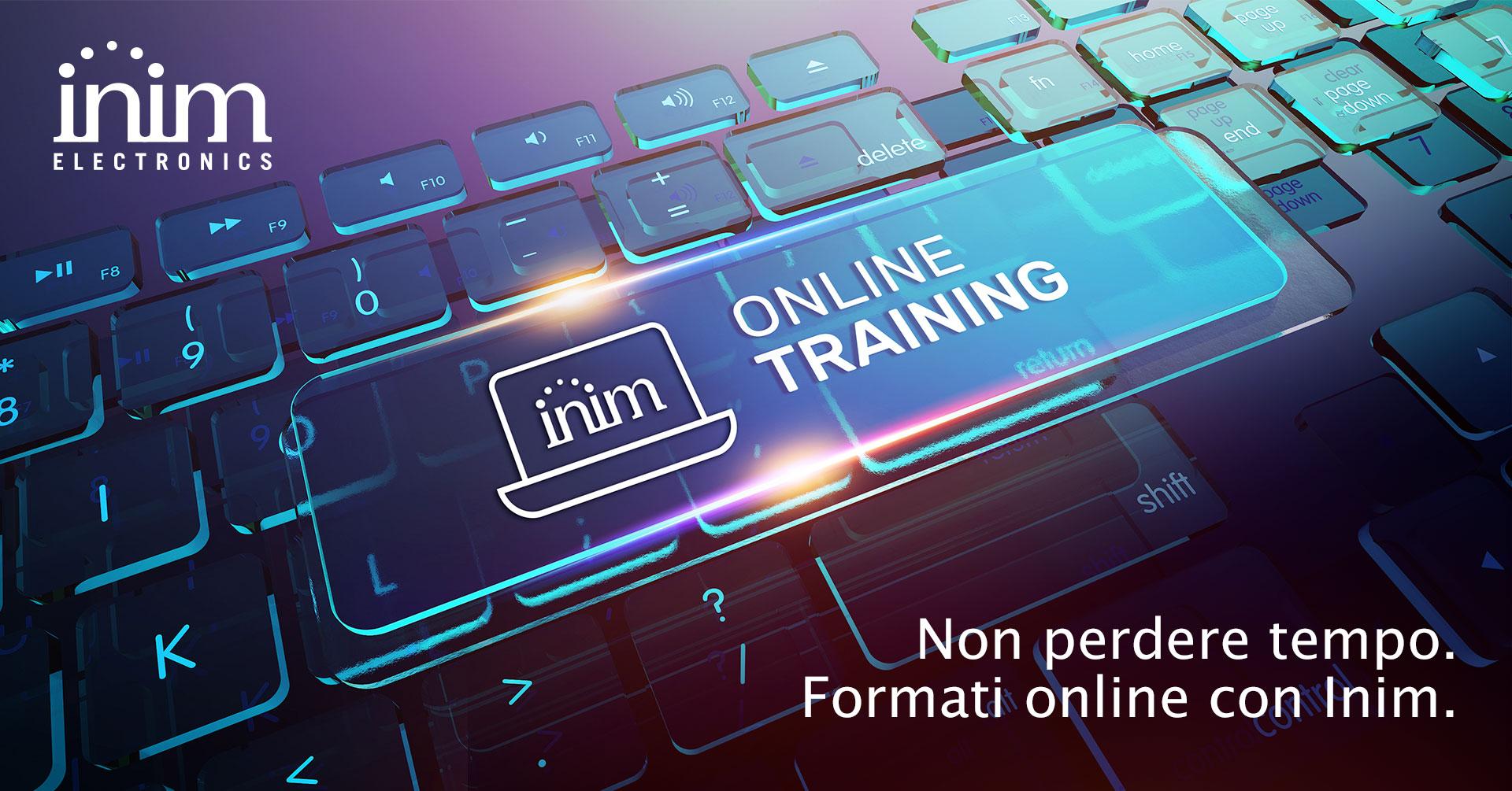 I corsi webinar online di Inim_prima serie
