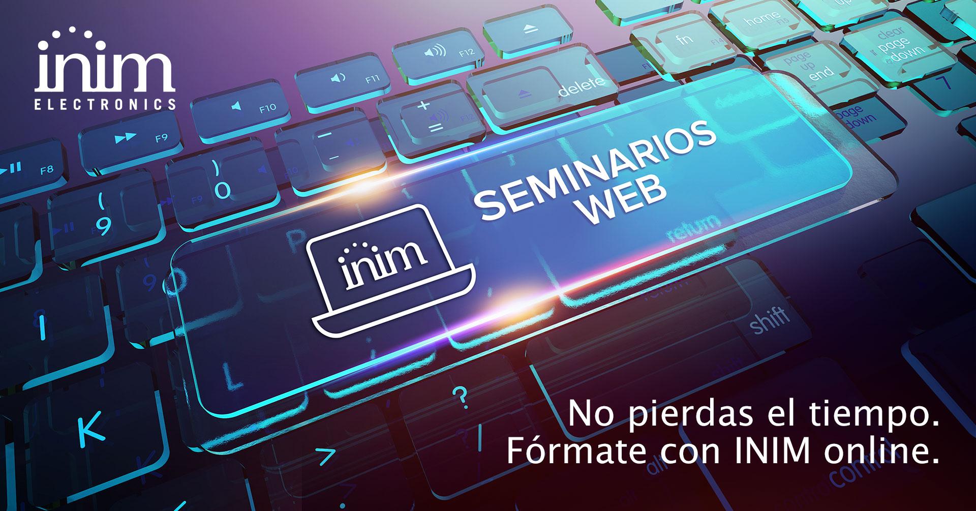 Webinar: presentación de los sistemas contra incendio INIM